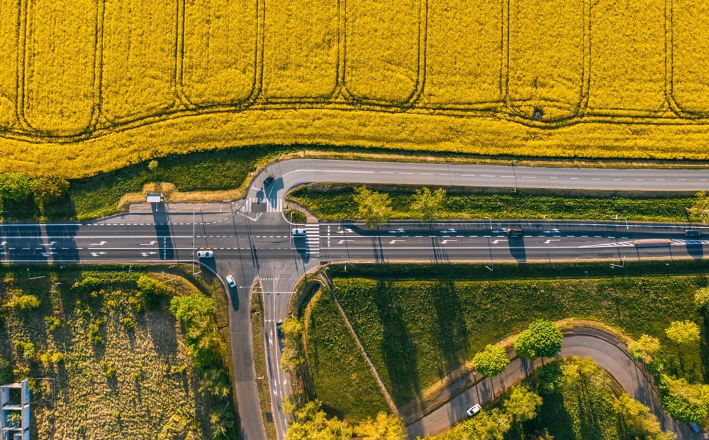 aerial-photography-state-road