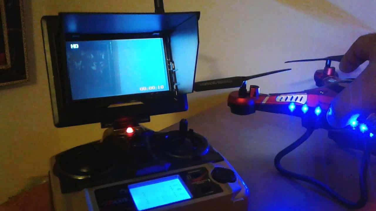 JJRC H8D Night flight