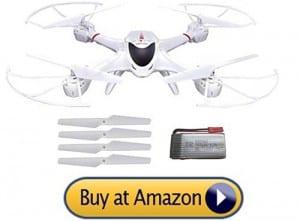 MJX-X400 best drone under 100 dollars