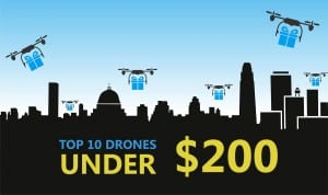 10 drones for less than $200