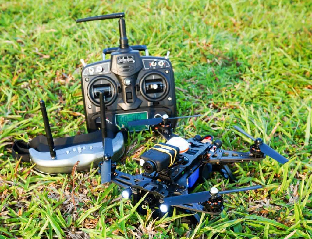 runner 250 drone racing