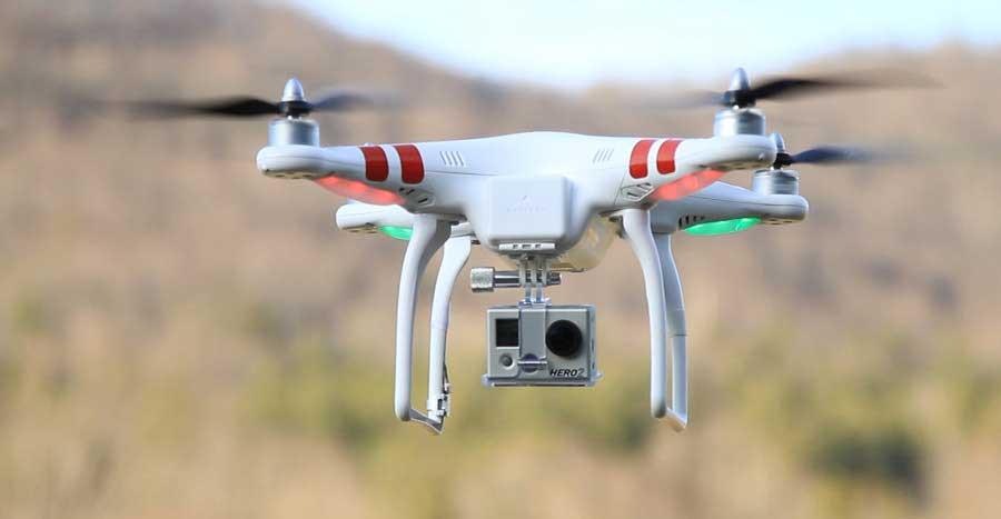 DJI Phantom2 GoPro Camera
