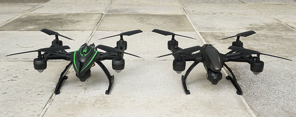 JXD 510G vs 509G. Credits : thedronefiles.net