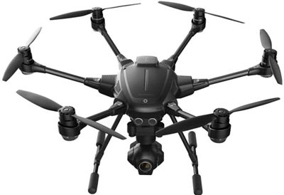 yuneec typhoon h with obstacle avoidance feature