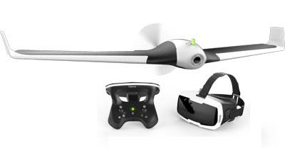 parrot disco surveillance drone