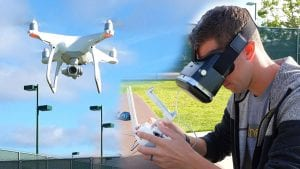 flying-drone-with-fpv-goggles