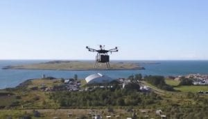 AHA drone delivery system
