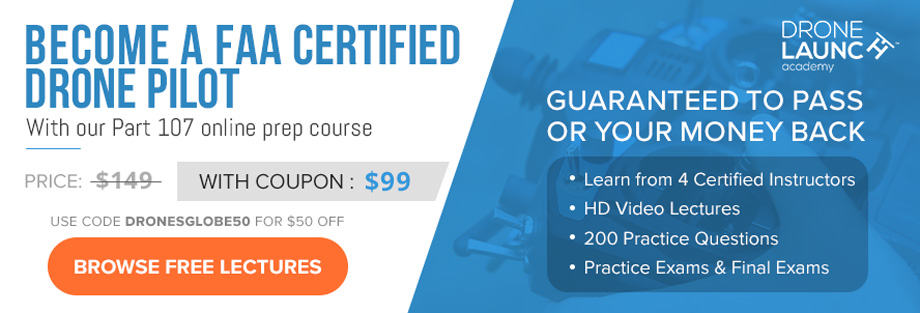 faa part 107 study guide - $50 off coupon / 97% pass rate !