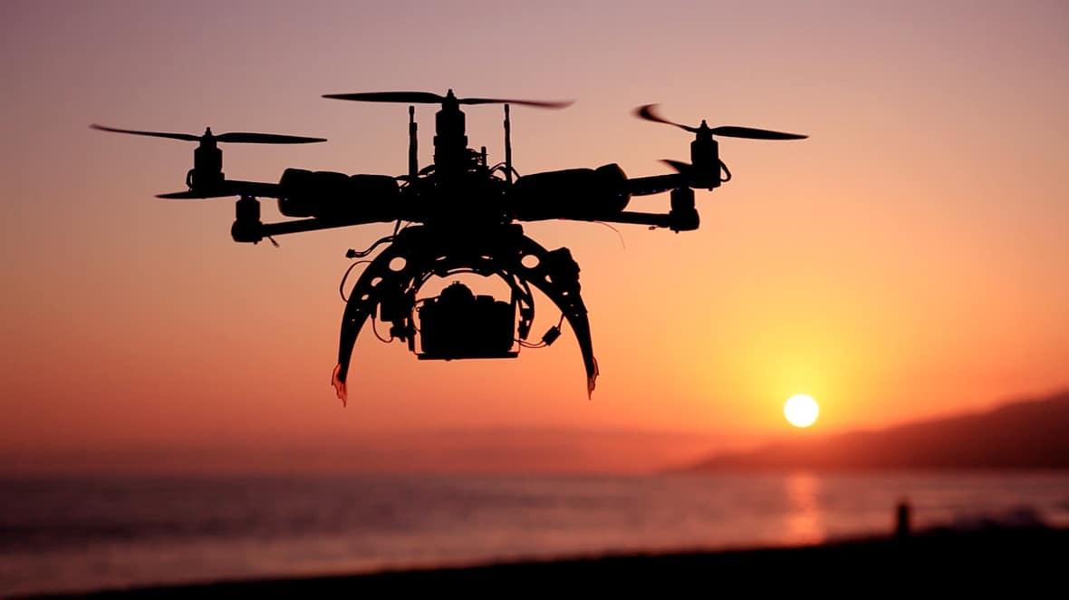 drones solar eclipse