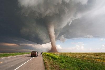 drones tornado footage