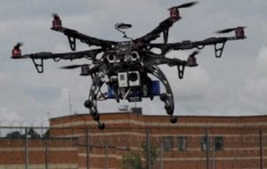 hexacopter smuggling prison