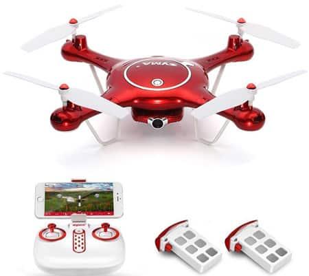 Syma X5UW drone with transmitter