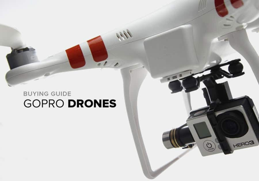 Drones for GoPro cameras