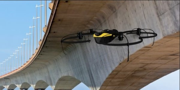 bridge inspection drone