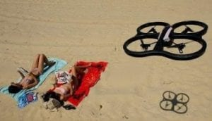 spying drones