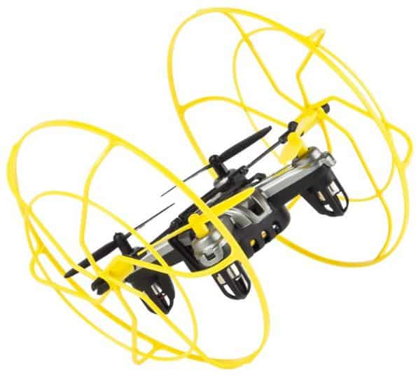Front And Back Of The Drone Have LEDs Thats About It Really Weve Covered Protective Cage Tricks Stunts Theres Nothing Much To
