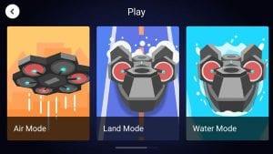AirBlock App 3 Default Modes