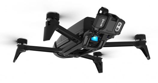 Review] Parrot Bebop Pro Thermal - drone with FLIR camera
