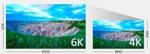 4k vs 6k resolution