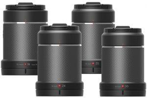 Zenmuse X7 Lenses