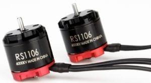 Emax RS1106 7500Kv brushless motors