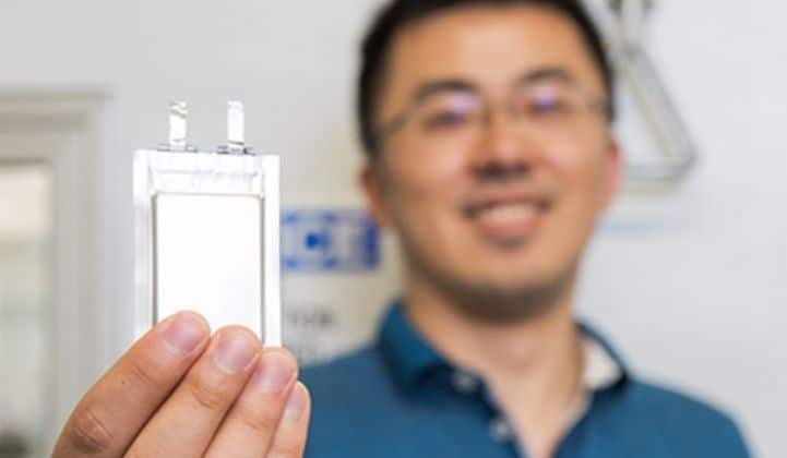 SolidEnergy Lithium-Metal Battery