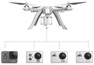 MJX Bugs 3 Pro camera choices
