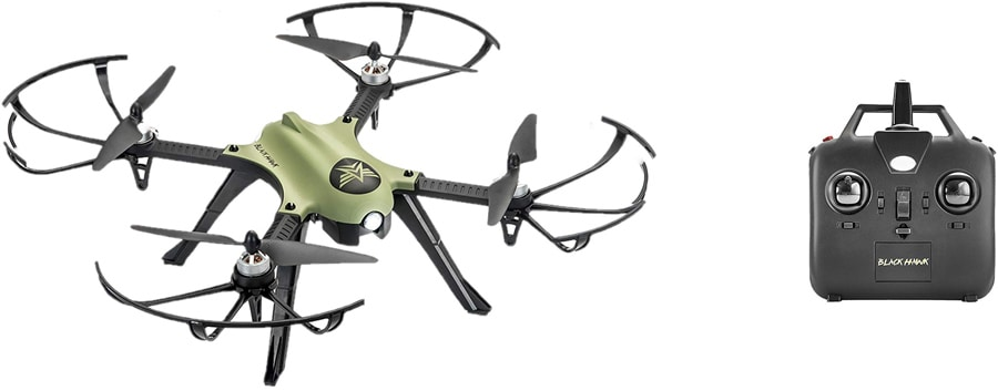 MJX Bugs 3 drone with transmitter