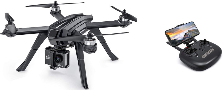 Potensic D85 drone with transmitter