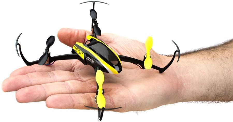 Blade Nano drone on handpalm