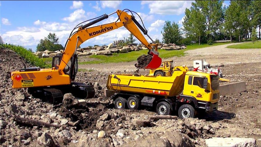 best rc excavators 2020