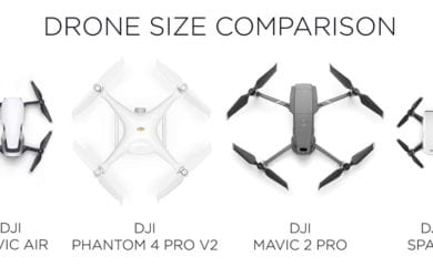 large drones with camera