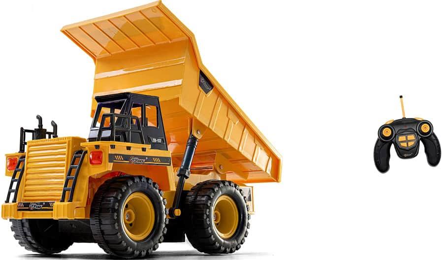 Top Race Dump Truck